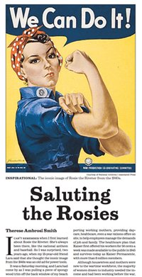NY Times Saluting the Rosies